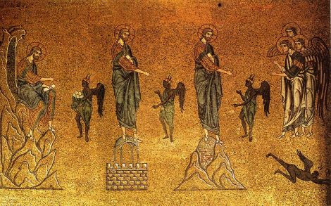 The Temptations of Christ (San Marco in Venice)
