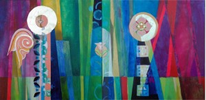 Annunciation, Christina Saj