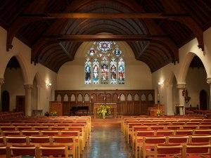 Dahlgren Chapel, where I entered the Catholic Church