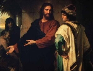 Heinrich Hofmann - Christ and the Rich Young Ruler