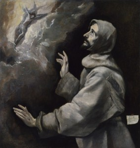 El Greco - St Francis receives the Stigmata