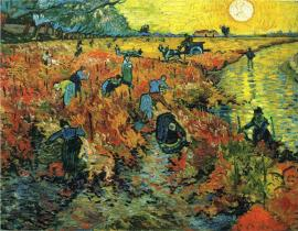 Vincent Van Gogh, The Red Vineyard at Arles