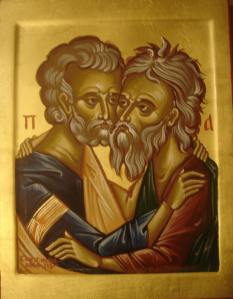 Icon of Andrew and Peter