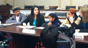 The Rehman family, whose grandmother was killed by a drone, testifies before all five members of Congress.