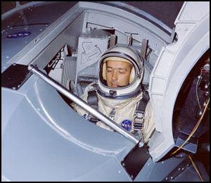 US Astronaut James Mcdivitt