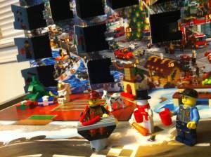 Lego Advent Calendar, halfway through
