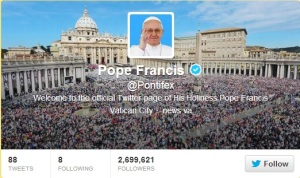 TwitterPope francis
