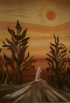 """Christ on the Way to the Desert,"" Dagmar Anders"
