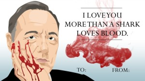 house of cards valentine