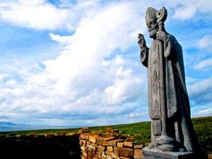 St-Patrick-Statue