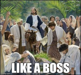 jesus like a boss