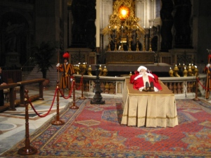Pope John Paul II in State