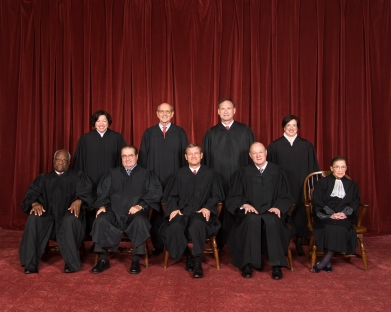 Supreme Court Justices 2013