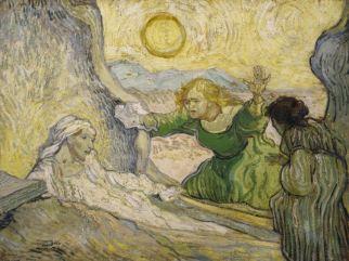 Vincent van Gogh, The Raising of Lazarus