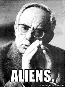 On the next episode of Ancient Aliens: Karl Rahner, SJ.