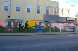 Mural on Amesbury