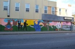 Mural on Amesbury