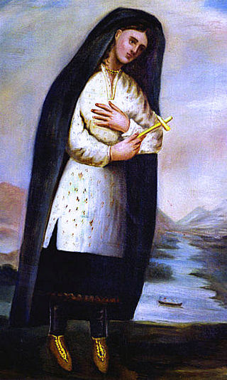 Painting by Fr. Chauchetière