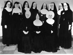 The Sister Formation Conference planning group in 1956.