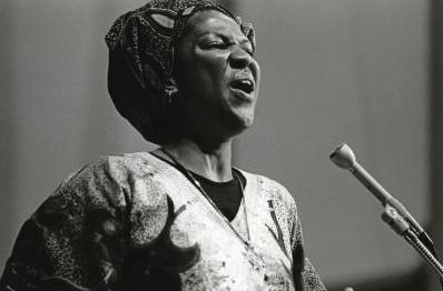 Sister Thea Bowman, a leader in the Black Catholic Community, c. 1980