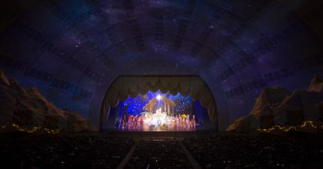 The Living Nativity at Radio City.