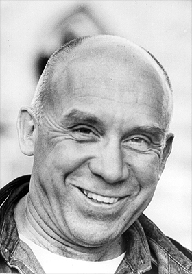 Photo of Thomas Merton by John Lyons