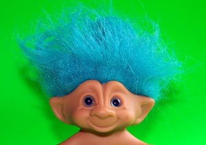 Not all trolls are so harmless