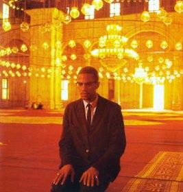 Malcolm X color photo