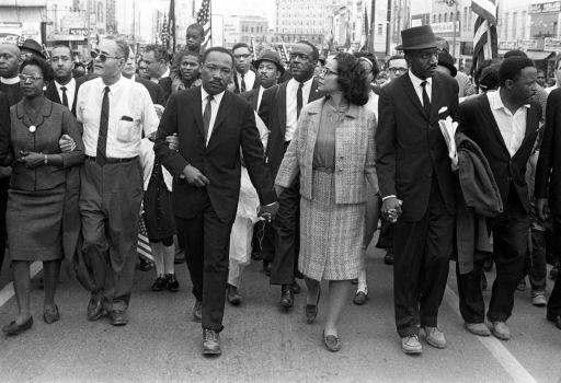 MLK arrives in Montgomery