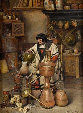 NOT Jesus. (Der Alchemist, Joseph Leopold Ratinckx)