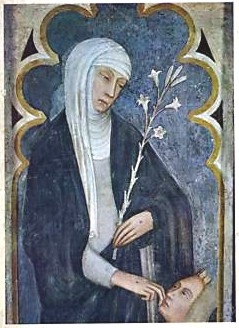 Fresco of Saint Catherine at San Domenico. From: http://commons.wikimedia.org/wiki/File:St_Catherine._San_Domenico2.jpg