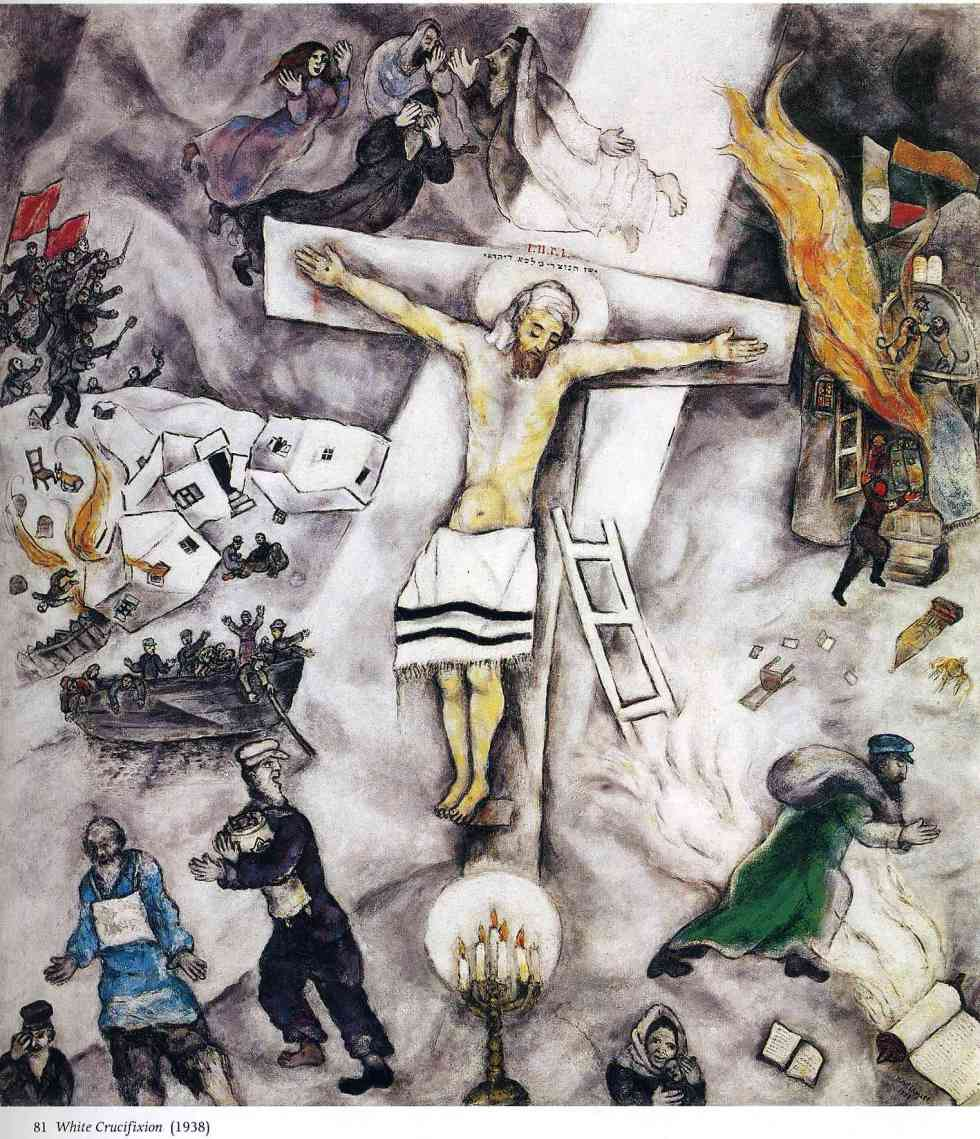 """""""White Crucifixion"""" by Marc Chagall"""