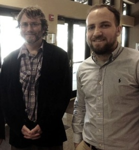 Joshua Coleman with Mike Avery (L to R)