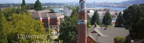 Picture of the University of Portland campus