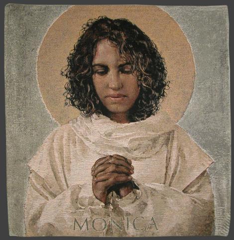 "John Nava, ""St. Monica"" (2003) http://www.magnoliaeditions.com/artworks/st-monica/"