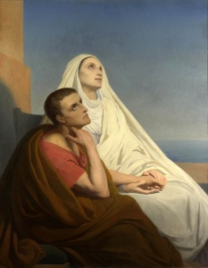 "Ary Scheffer, ""Saints Augustine and Monica"" (1854)"