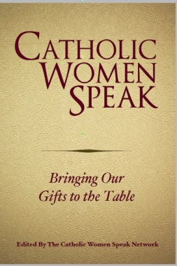 "Book cover for ""Catholic Women Speak: Bringing Our Gifts to the Table."""