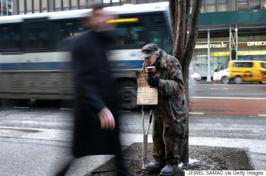 US-ECONOMY-NEW YORK-HOMELESS