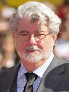 George Lucas, creator of Star Wars...and Jar Jar Binks