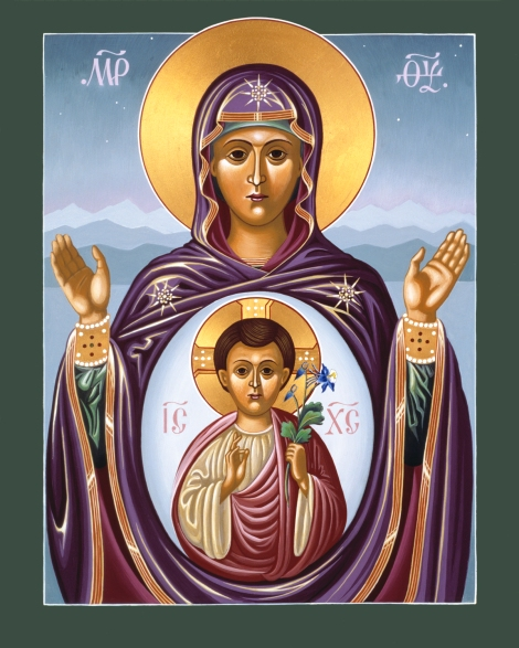 """Our Lady of the New Advent,"" by William Hart McNichols, SJ"