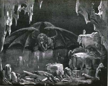 Illustration by Gustave Dore.