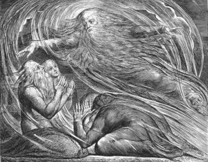 Illustration to the Book of Job, William Blake