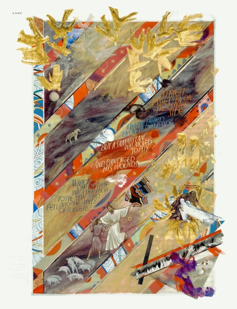 St. John's Bible, Luke Anthology, Artist: Donald Jackson