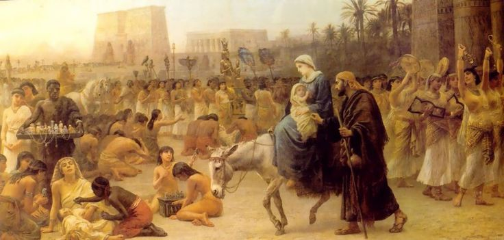 """Edwin Long, """"Anno Domini"""" (1883)"""