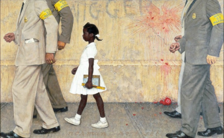"""The Problem We All Face"" [Norman Rockwell, 1964]."