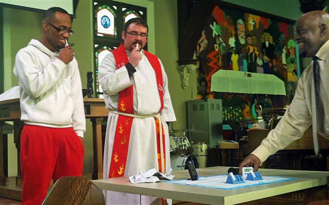 pastor hiv test