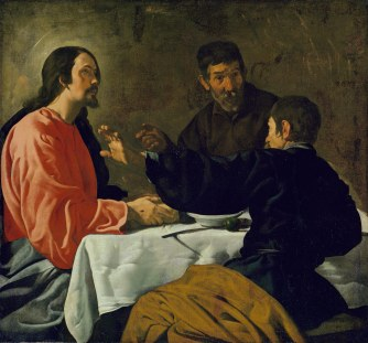 velazquez - supper at emmaus