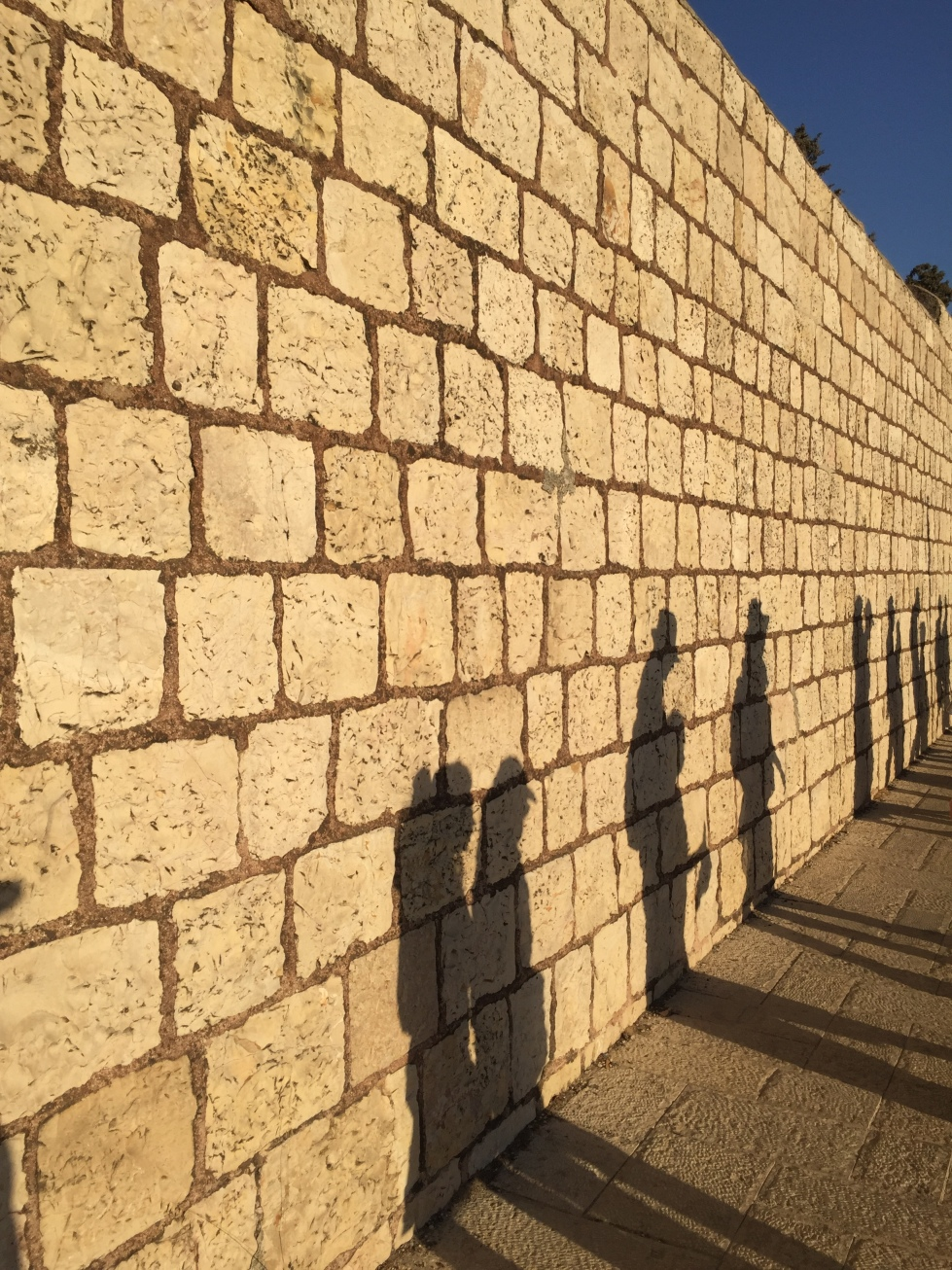 Walking in West Jerusalem